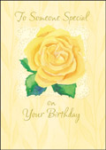 hazy jean birthday yellow rose