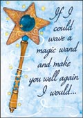 hazy jean get well magic wand