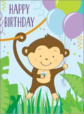 little jeanie monkey birthday