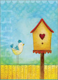 little jeanie bird house